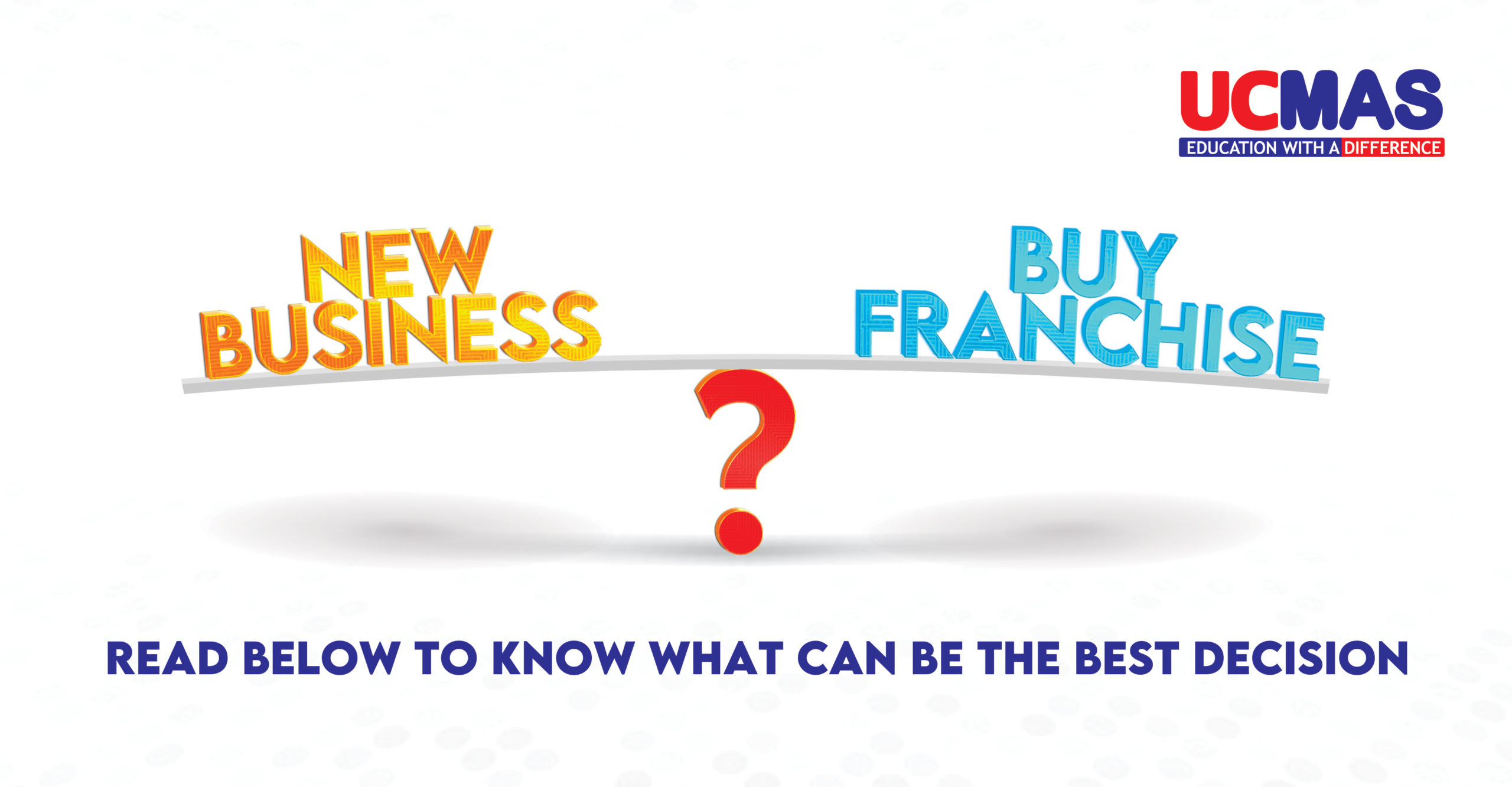 What makes UCMAS the best franchise opportunity in India with low investment franchise option.